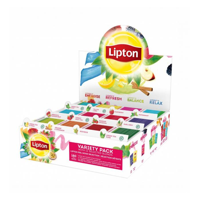 Čaj LIPTON mix box 180ks